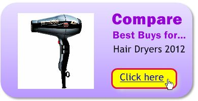 Compare hair dryers for the best buys