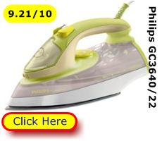 Philips GC3640 Eco steam iron