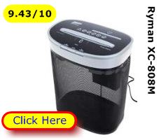 Ryman XC808M paper shredder