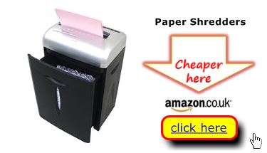 Paper shredders for home use likely cheaper here
