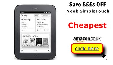 Nook Simple Touch Cheaper Here