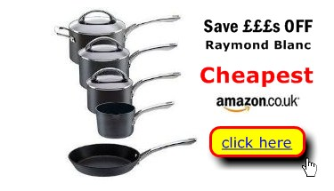 Raymond Blanc professional cookware at keen prices