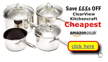 Clearview by Kitchencraft post & pans cheaper here