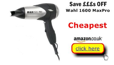 Wahl 1600 MaxPro probably cheapest here
