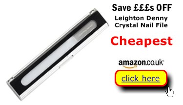 Leighton Denny Crystal Nail File Cheaper Here